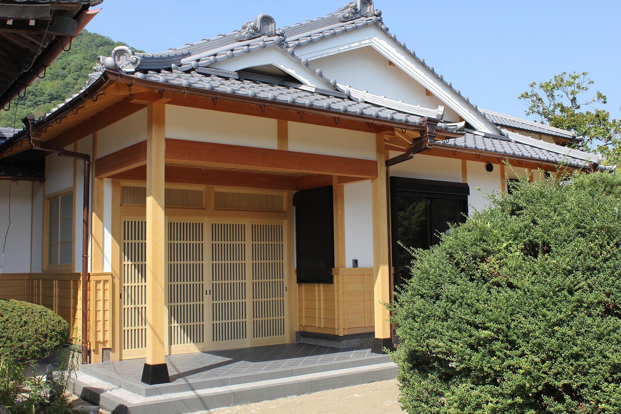 寺院客殿新築