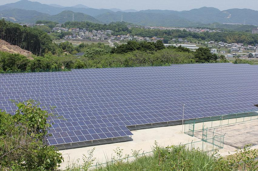 三栄メガソーラー猪名川発電所
